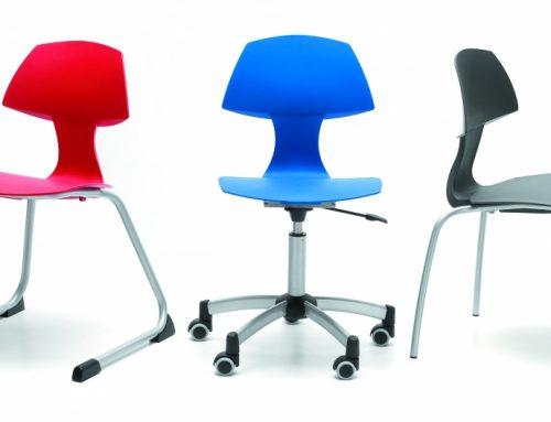 Schoolchair CLIX || Oranje Meubel