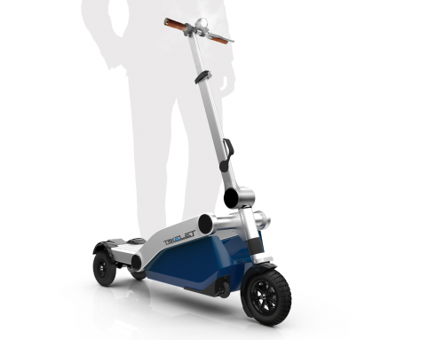 Foldable electric scooter || Trikelet